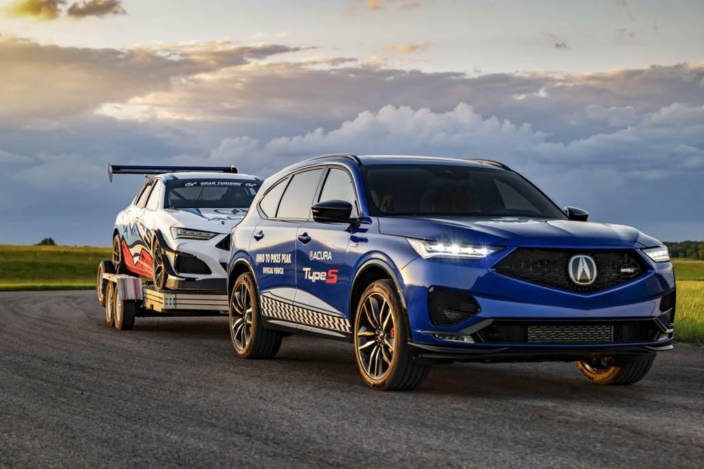 性能旗艦休旅 ACURA MDX Type S 首度亮相、將作為 2021 派克峰比賽「工作用車」