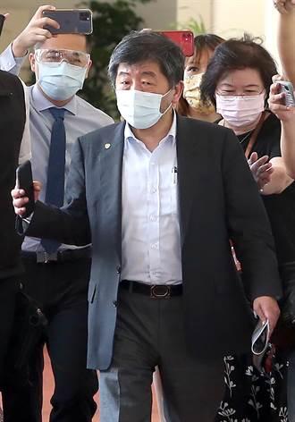 衛福部長陳時中出席立院朝野協商