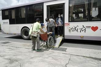 方便長者出門 大台南公車推免費疫苗接送專車