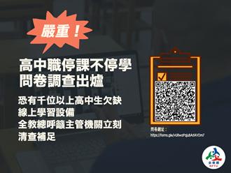 網課學習設備落差大 上千學生無法線上教學