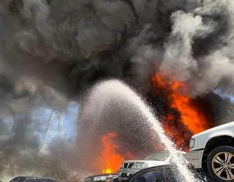 大溪員林路傳火警濃煙密布 無人傷亡受困