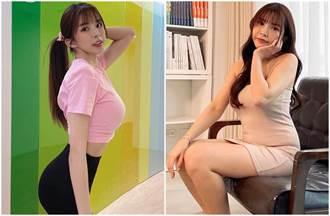「國光女神」蘇心甯崩壞照瘋傳 曬鏟肉5公斤火辣照雪恥