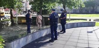 北市公園赫見男子裸奔 警協助強制送醫