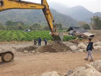 檢警運用無人機蒐證 破獲六龜盜採砂石案
