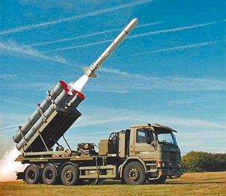 台美兩軍購案487億元 簽約生效