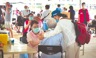 下修78歲 竹市第2波接種 施打率69%