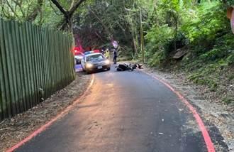 土城2女機車雙載疑下山失控「撞山壁」 摔倒路旁1死1重傷