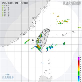 今起中南部降雨明顯 吳德榮:下周二起梅雨重返台灣