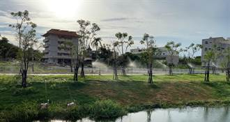 防疫期間不停工 月津港水岸5公園整建完工