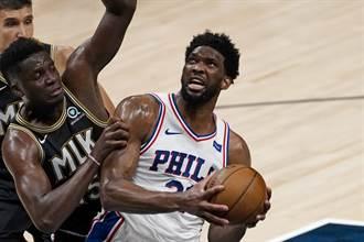 NBA》拒絕淘汰回家!七六人止住老鷹反撲逼入搶7