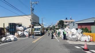 廢棄物成路霸 中市環保局強制代清除