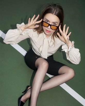 今夏最熱單車褲 朴彩英、Lily Collins都愛它