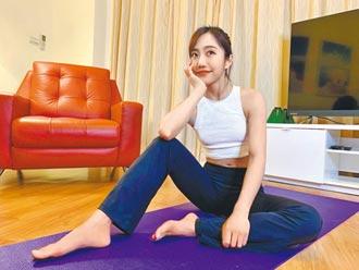 蔡佩軒爆汗運動增肌肉