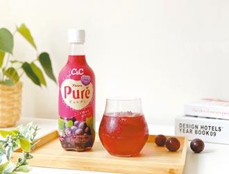 台日聯名葡萄氣泡飲重現軟糖酸甜風味