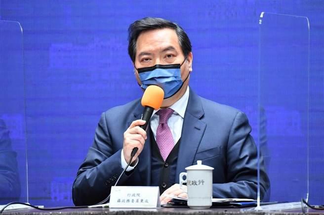 行政院發言人羅秉成表示,勞動部正在朝增加勞工紓困貸款名額規畫。(行政院提供)