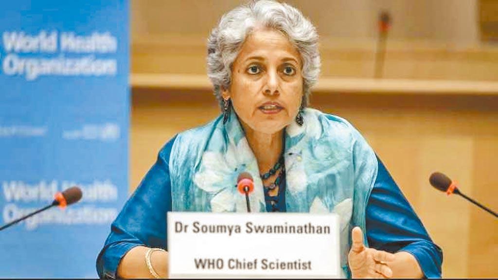 印度Delta變種病毒打亂歐美解封腳步,WHO首席科學家斯瓦米納坦18日警告,Delta病毒正在成為全球主要傳染的變種病毒株。(摘自Soumya Swaminathan推特)