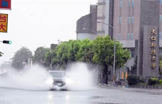 西南氣流帶豪雨 屏東零星淹水無災情