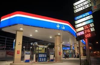 油價續揚 汽、柴油各漲0.1元