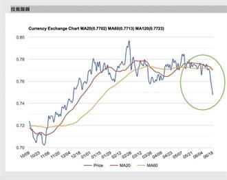 美元指數快速攀高 商品貨幣現跳水慘狀