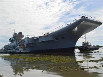 印度最大自製航艦維克蘭號 海上試驗又延期