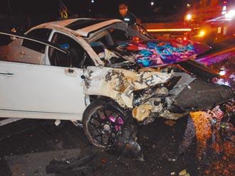 路滑超速被撞 北南3起車禍奪3命