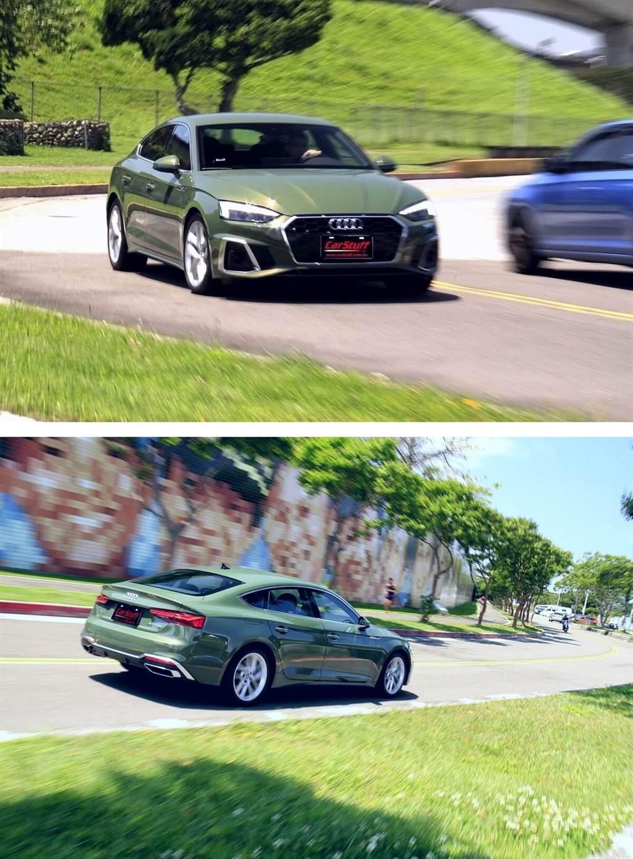 絕美身形Audi A5 Sportback 40 TFSI,驅動想像與感動!