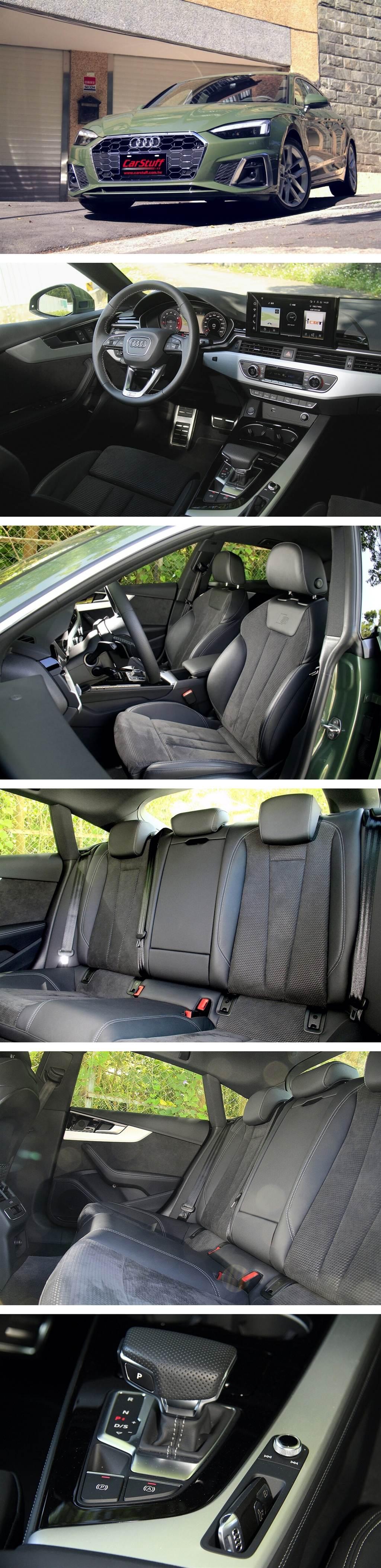新A5車內一個小細節改變:將之前的訊息娛樂系統的操作鍵與旋鈕取消,改以小格置物空間取代,相關的操作都整合到了MIB 3中央觸控螢幕之中。