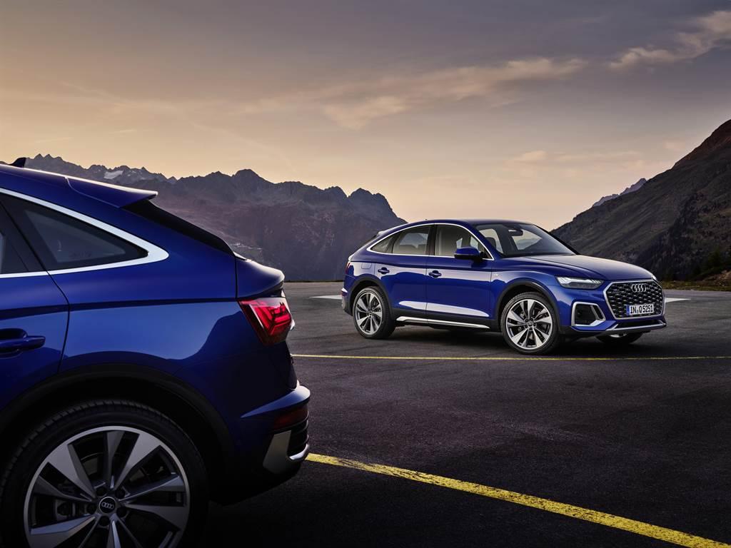 Audi Q5 Sportback提供advanced車型與限量50台的Edition One車型。