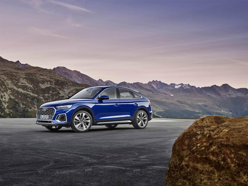 Q5 Sportback為Audi品牌旗下繼Q8、Q3 Sportback後,第三款斜背跑旅車型。