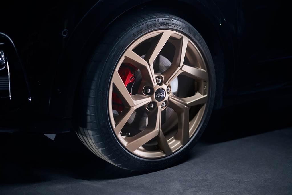由粉絲們決定的Ford黃金版Puma ST正式亮相