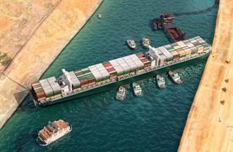 長賜輪卡蘇伊士運河90天再延2周!船東提42億元新賠償方案
