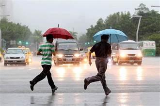 雷雨彈升級今晚起狂炸 豪大雨熱區擴及9縣市