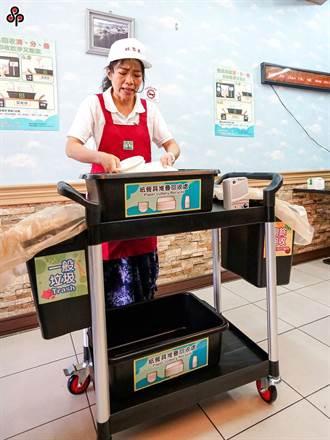 回收兼防疫 10月起自助餐店、便當店須設置紙餐具回收設施
