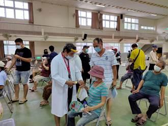 台南市出現緩打潮 長輩集中施打疫苗3天不到預估半數