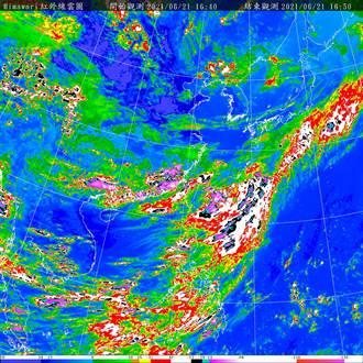 致災滯留鋒要來了 氣象局17時30分啟動大規模豪雨作業