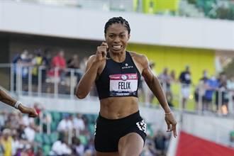 東奧》地表最速媽媽 美國名將五度叩關奧運