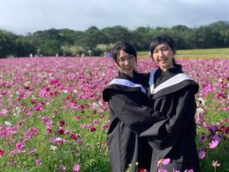 雙胞胎同「攀」共苦4年 大同大學姊妹花要畢業了