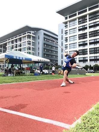 田協自辦測驗賽 標槍黃士峰85.03公尺取得東京奧運門票