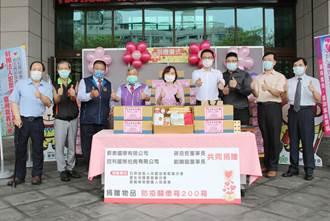 兩企業捐防疫關懷箱 家樂福協助配送到府