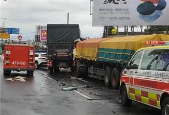 2起車禍6輛車追撞 永康交流道附近塞車1個多小時