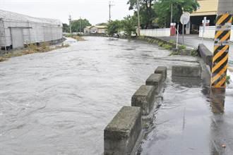 雷雨彈轟炸整天 南彰化這幾個鄉鎮累積雨量冠全台