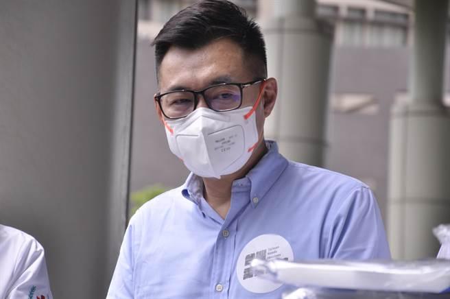台灣疫苗不到500萬劑 江啟臣:群體免疫至少要3千萬劑(戴上容攝)