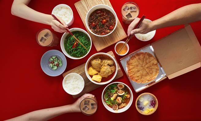 瓦城泰統集團與2大平台攜手合作外送美食。(圖/瓦城泰統集團提供)