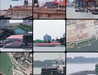 張競》中國大陸新潛艦現身上海