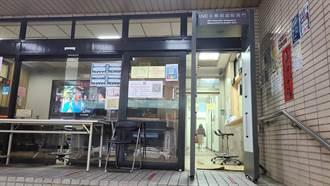 防疫守門員  中市交大啟用「自動測溫除菌門」