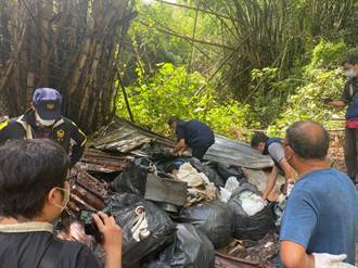 環保局抓4次罰1200沒感覺 男子露天再燒廢棄物遭重罰83倍