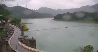 石門水庫蓄水量升至55% 桃園水情燈號轉黃燈