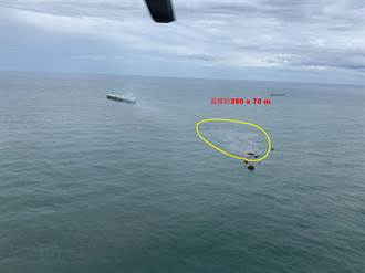 中油再次漏油!輸油管破裂汙染小琉球 高市漁民促進會:重大疏失
