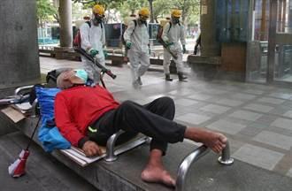 台北車站街友爆群聚 8人確診已收治