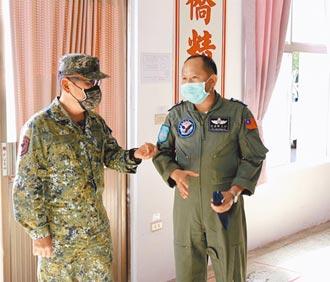 軍團改作戰區 陸軍指揮官視導空軍部隊